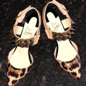 Christian Louboutin 👠 RARE Leopard!! 🔆